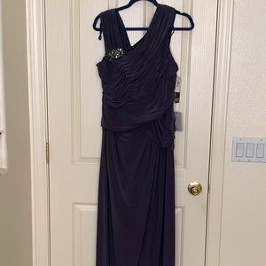 Size 16 Grey evening gown